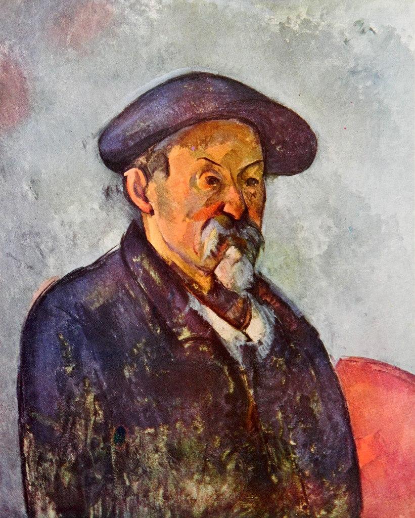 Cezanne au béret
