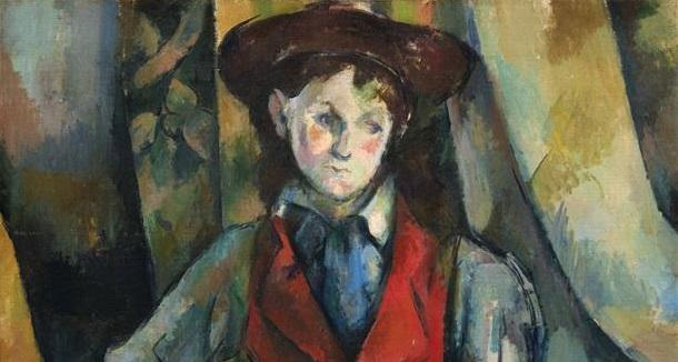 Os retratos de Cezanne