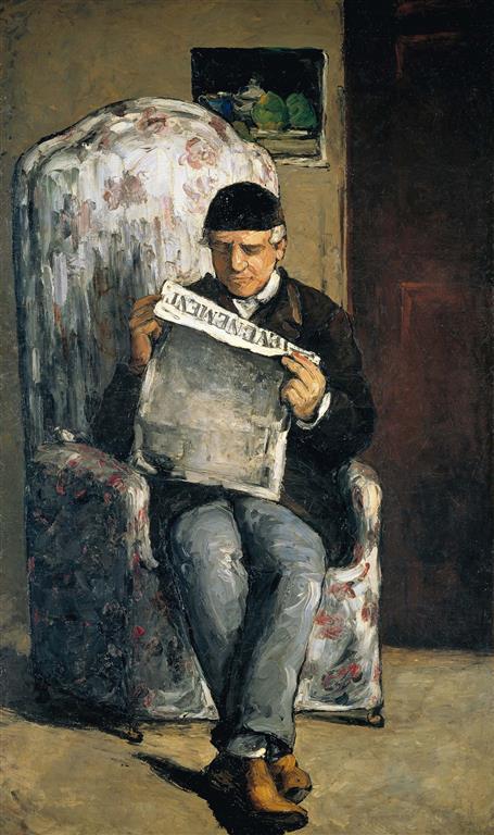 Louis Auguste père de l'artiste (Medium)