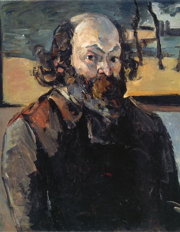 Portrait Paul Cezanne 2 (Medium)